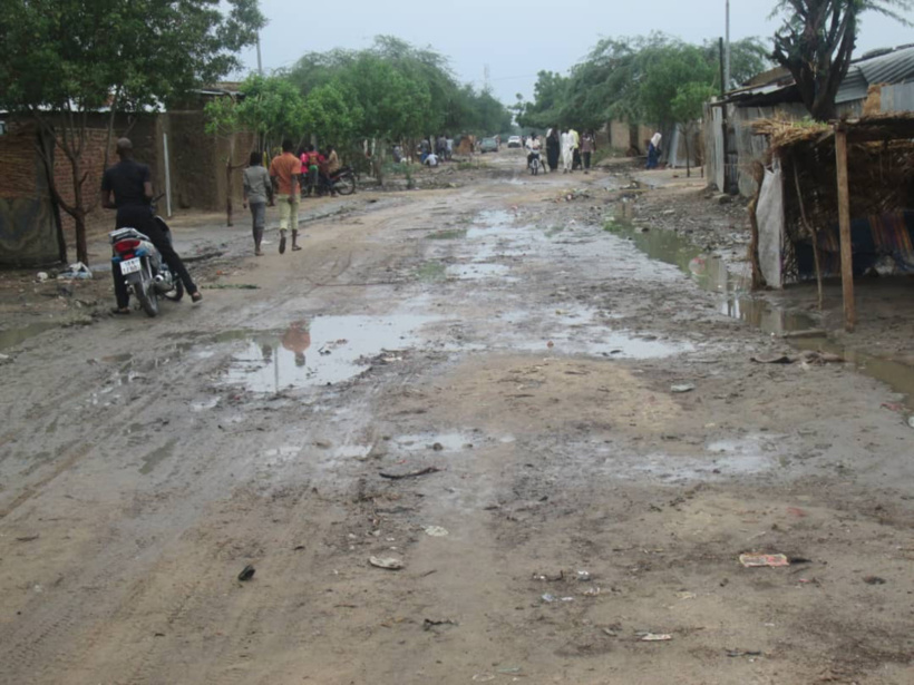 En images : inondations à N'Djamena