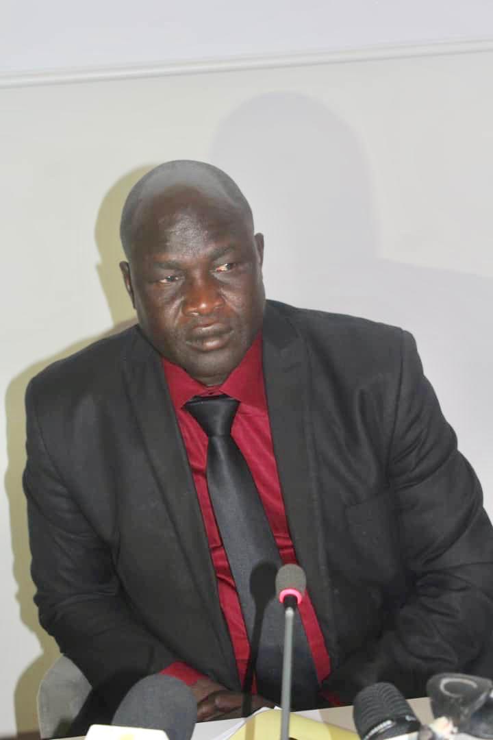 Le secrétaire général de l'Alliance des défenseurs des droits humains et de l'environnement au Tchad (ADHET), Abba Daoud Nandjedé. Alwihda Info