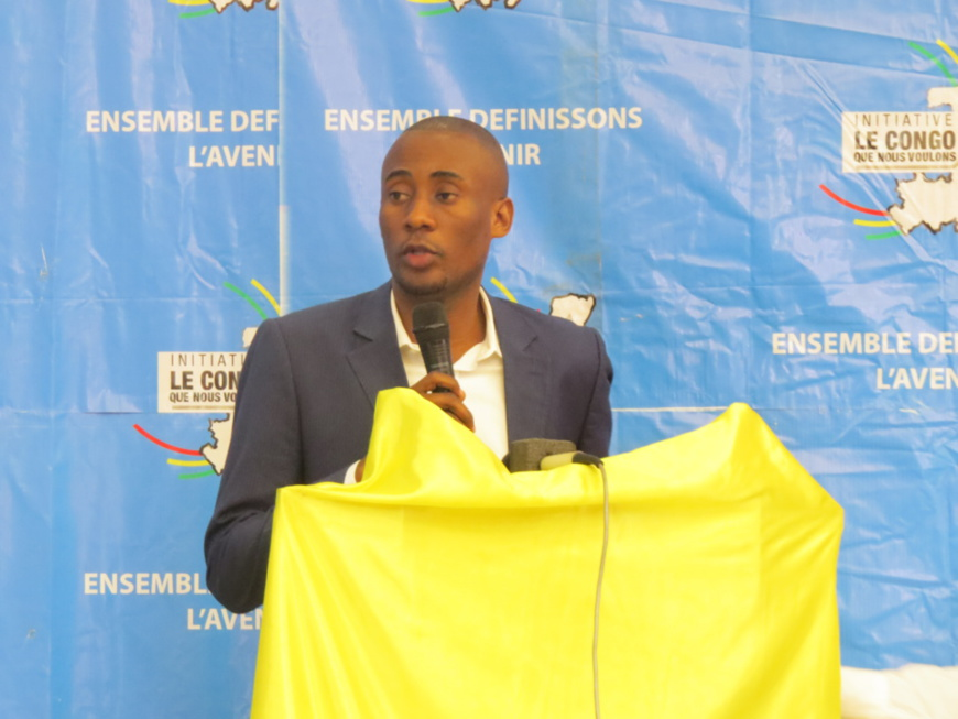 L'Honorable Ibam Exaucé Ngambili dans son mot introductif.