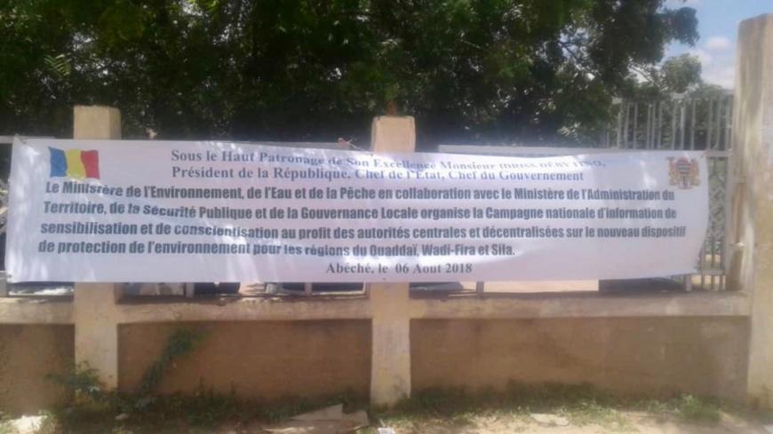 Tchad : les régions sensibilisées au nouveau dispositif de protection de l'environnement / Alwihda Info/H.C.