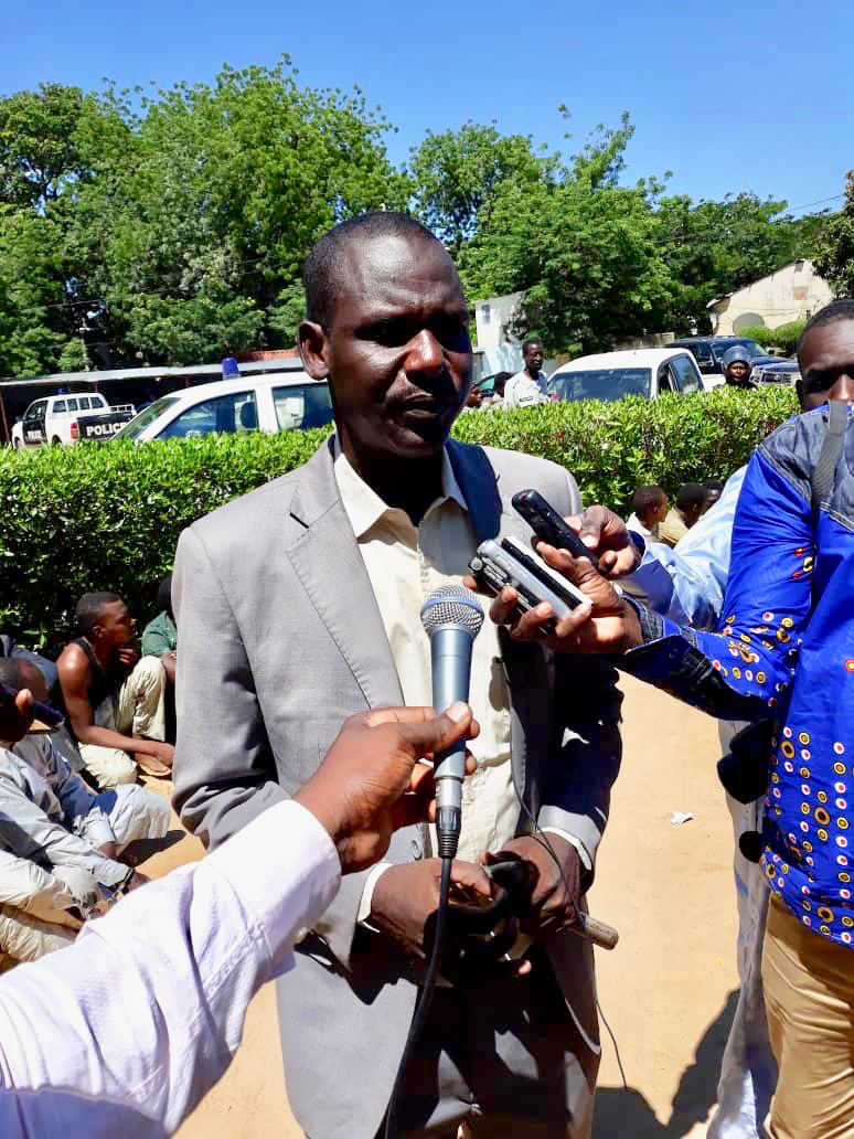 Le porte-parole de la police nationale, Paul Manga. Crédits : Alwihda Info