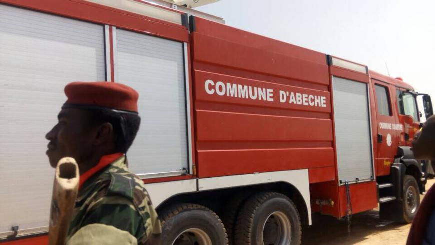 Une camion de pompier à Abéché. Crédits : Alwihda Info/D.H.