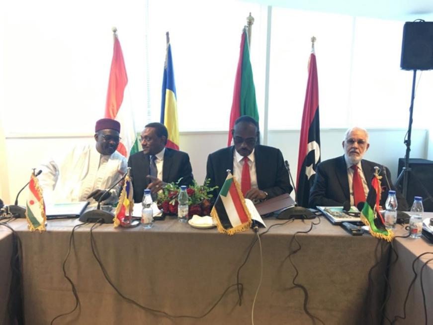 Surveillance des frontières Tchad-Libye-Niger-Soudan : N'Djamena va abriter un centre des opérations. Crédits photo : LANA