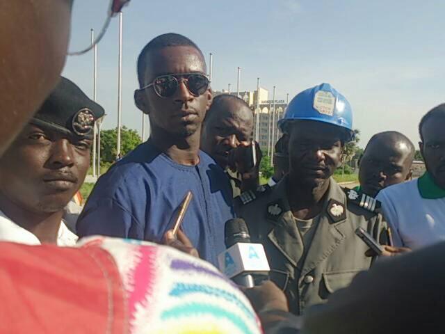 A N'Djamena, Afrique Campus et la police nationale sensibilisent sur la citoyenneté ce lundi 13 août 2018. Alwihda Info