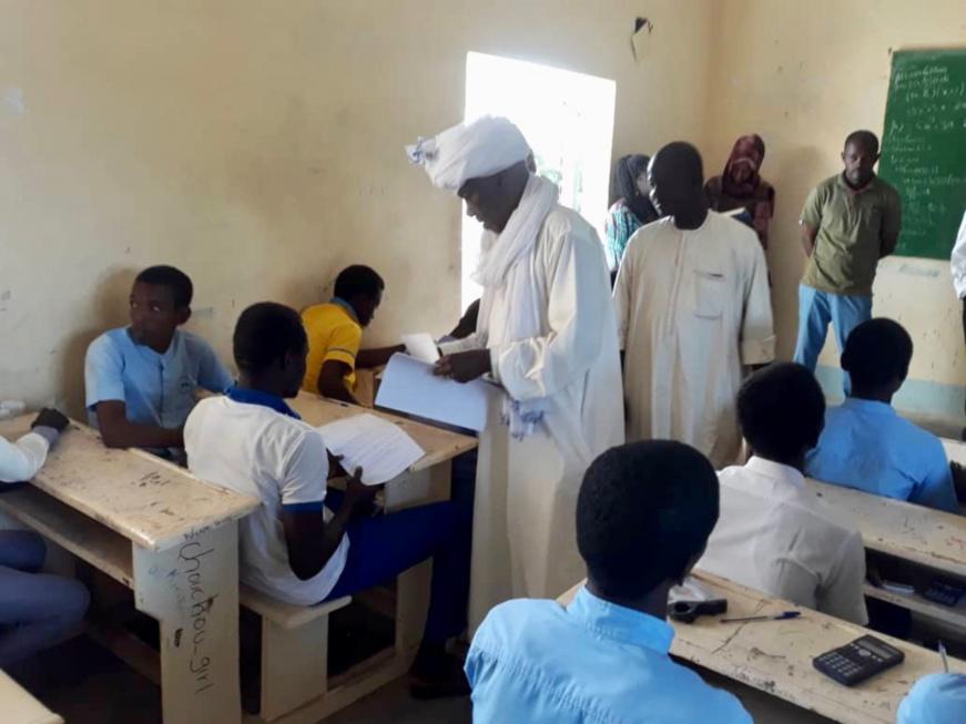 Tchad : 64 élèves composent le concours national de mathématiques