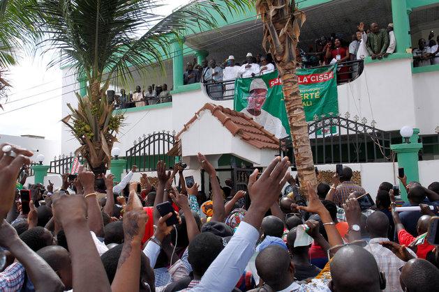 Mali : l'opposition manifeste contre la réélection du président IBK. Crédits photo : bamada.net
