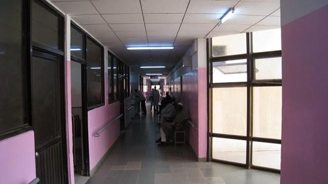 L'hôpital de l'amitié Tchad-Chine à N'Djamena. Crédits : DR