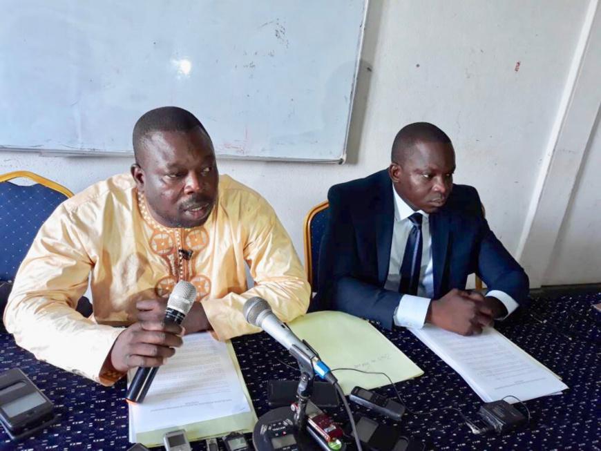 L'avocat de la partie civile, Maître Pamkeré Wouzé (gauche). Alwihda Info/archives