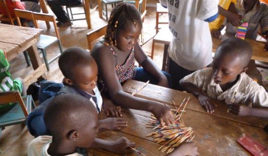 Illustration. Des enfants au Burkina-Faso. Crédits photo : Urgences Afrique
