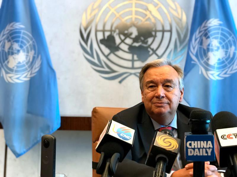 UN Chief: China-Africa cooperation vital to world peace and development