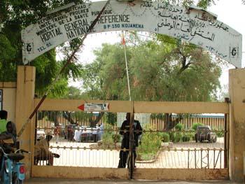 L'HGRN de N'Djamena. Crédits photo : DR
