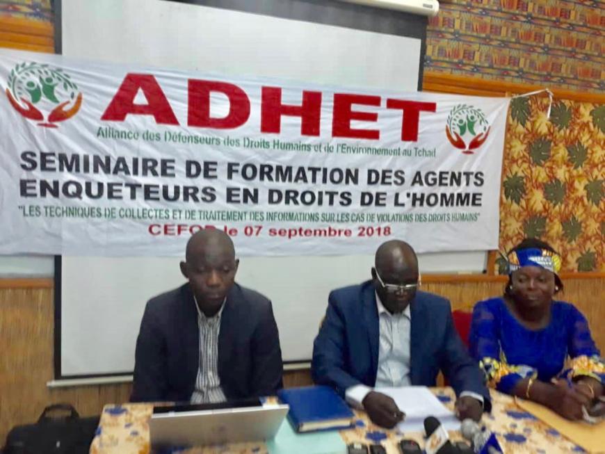 'LADHET a lancé, vendredi 7 septembre 2018 au CEFOD, un séminaire de formation des agents enquêteurs spéciaux en droit de l'homme. Alwihda Info/C