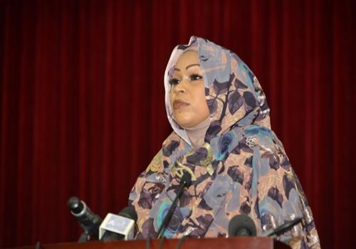 La Première dame, Hinda Déby.