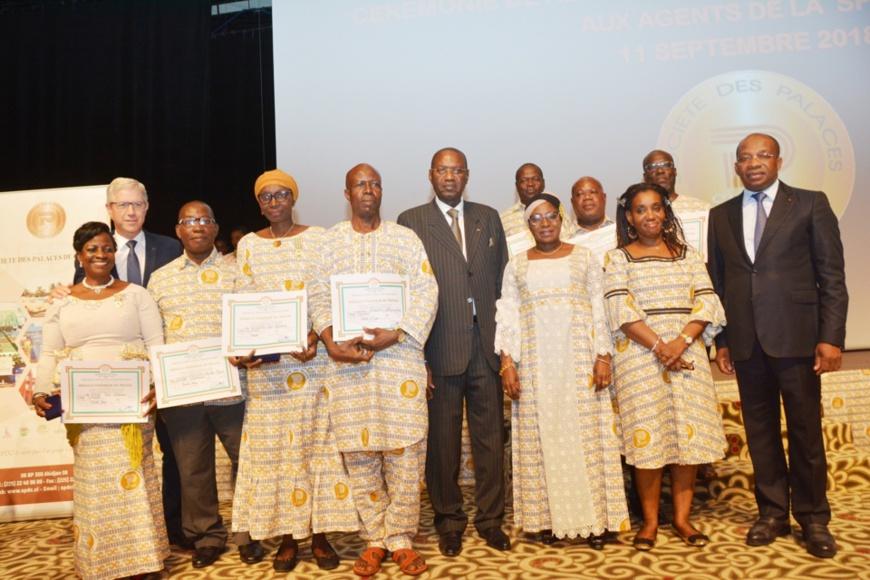 Côte d'Ivoire/Reconnaissance du mérite professionnel : 121 agents de la Spdc reçoivent des médailles d'honneur