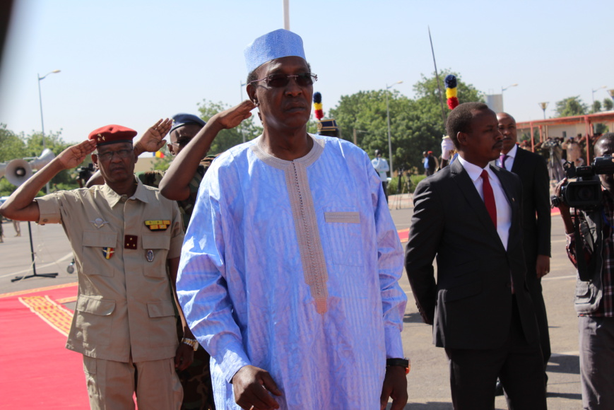 Le chef de l'Etat, Idriss Déby. Crédits : Alwihda Info/D.W.