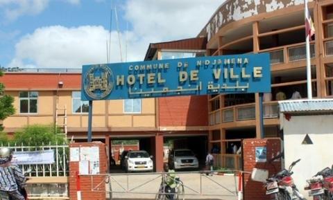 L'Hotel de Ville de N'Djamena. Crédits : Sources