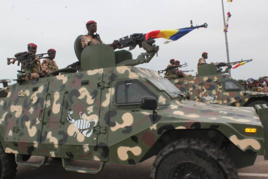 Un blindé de l'armée tchadienne. Alwihda Info/archives