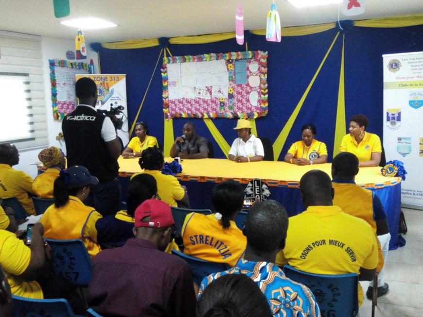 Côte d'Ivoire/Institut des aveugles de Yopougon : Le Lions club réhabilite le centre médical.