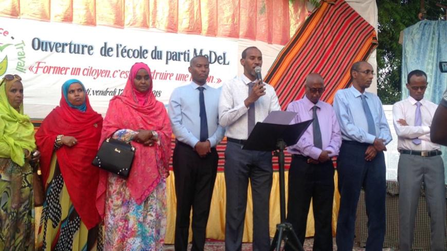 Djibouti : Discours de Ismaël Ahmed Wabéri, président du parti MoDeL, à l'inauguration de l'école du parti