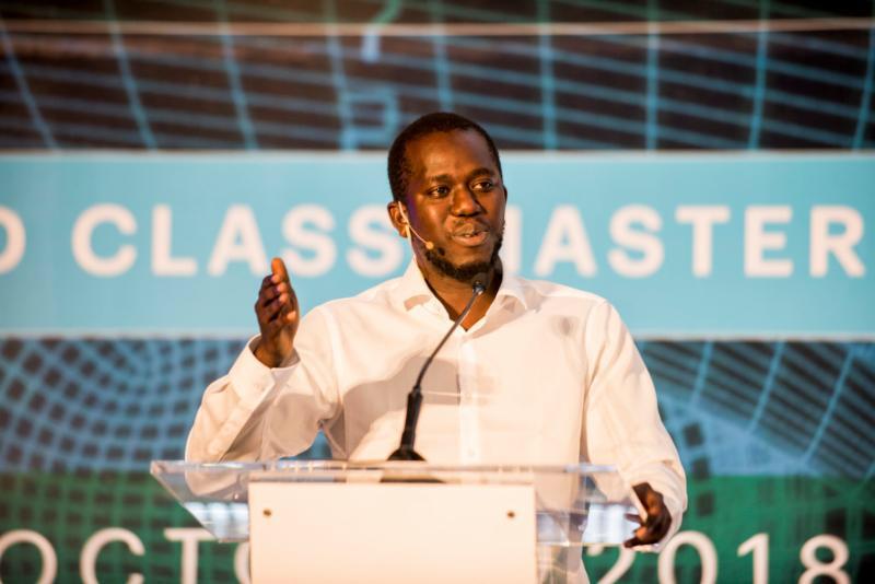 Le professeur Moustapha Cissé, fondateur et directeur du programme de l'AMMI à l'AIMS et directeur du Centre Google AI au Ghana.