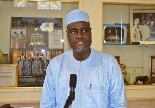 Moussa Faki consulte Déby sur les réformes institutionnelles de l'UA