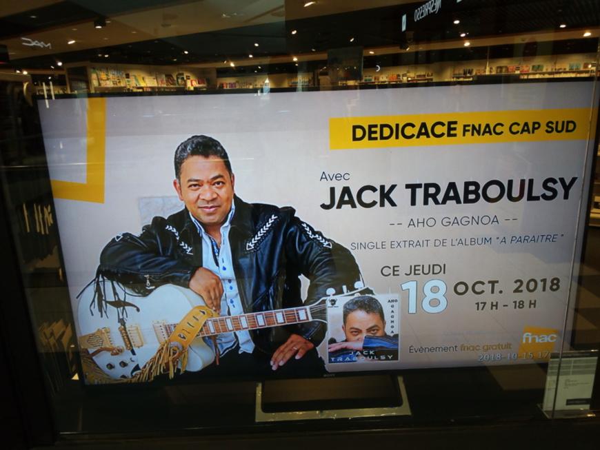 Côte d'Ivoire/Musique : Jack Traboulsy dédicace ''Aho Gagnoa''