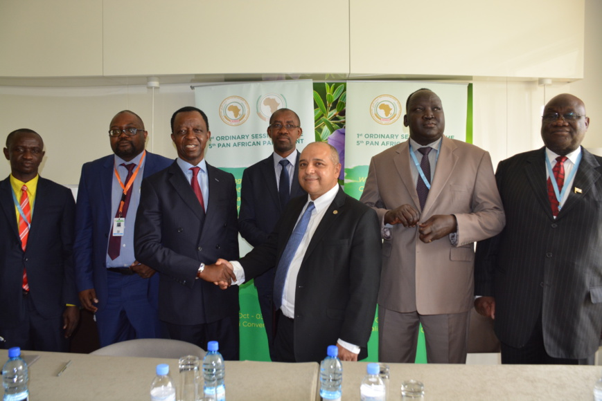 ATAF signed a critical Memorandum of Understanding today with the Panafrican Parliament in view of combining forces to stem illicit financial flows on the continent.