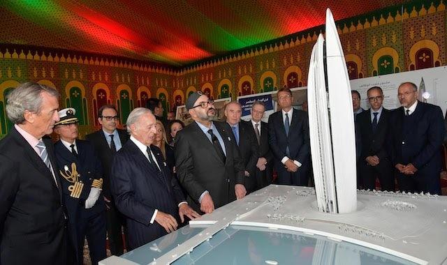 La Tour Mohammed VI du Maroc sera la plus haute d'Afrique.
