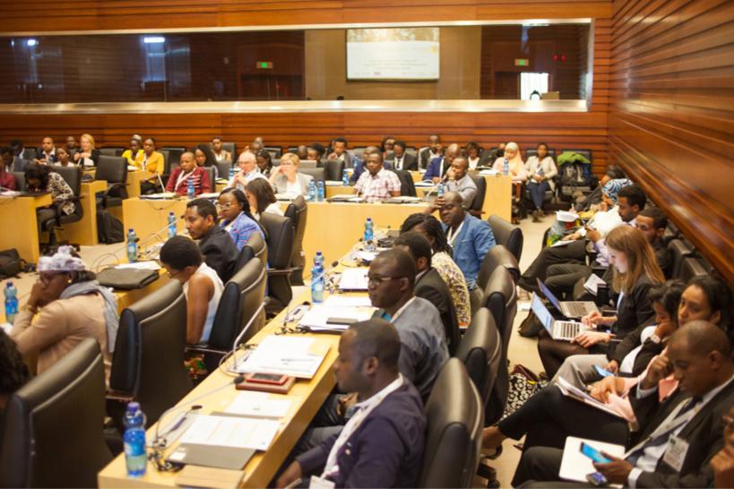 ©Mulugeta Gebrekidan | Promotion de l'entrepreneuriat chez les jeunes au cœur de la conférence « Africa Talks Jobs ». Source: Africa Talks Jobs