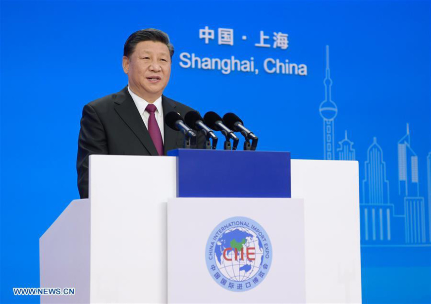 President Xi: China will step up efforts to widen opening-up