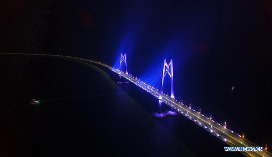 Hong Kong-Zhuhai-Macao Bridge, a highlight of national aspiration