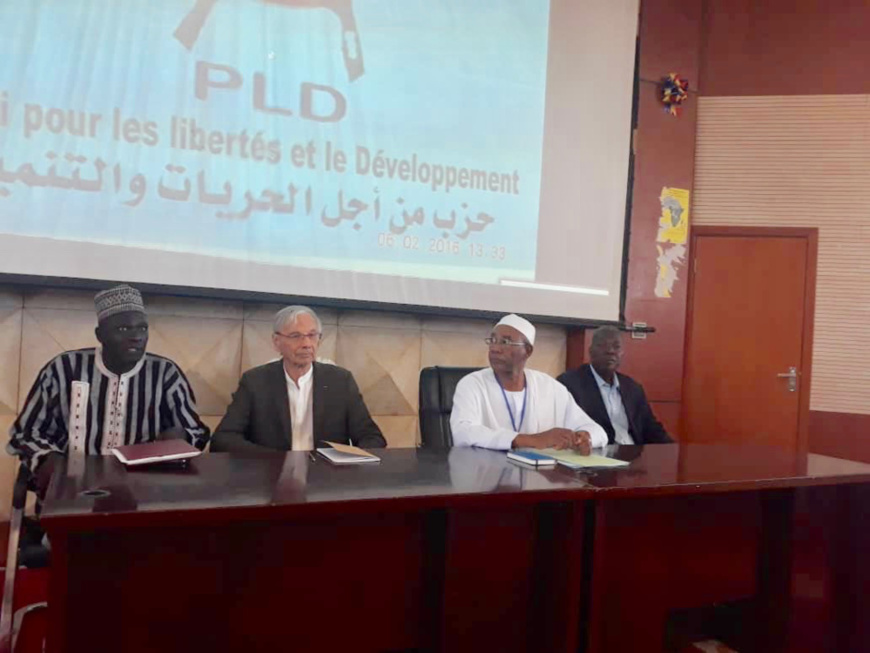 Le 4ème congrès du PLD à N'Djamena. © Alwihda Info