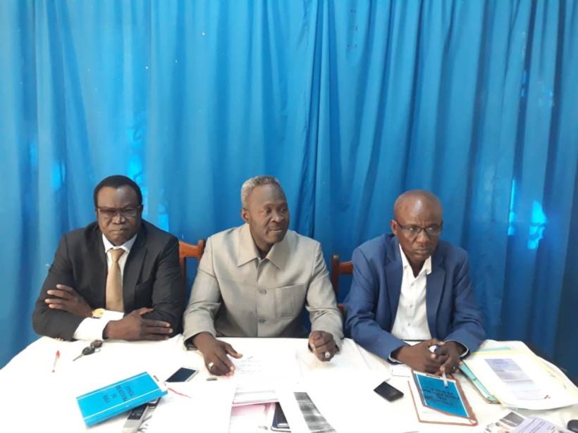 Le collectif des avocats du député Azzai Mahamat Hassan. © Alwihda Info