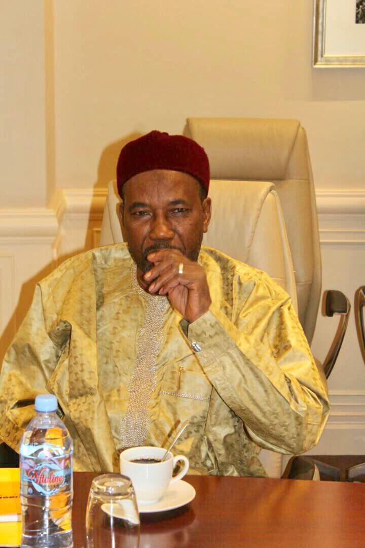 Mahamat Zene Bada, le secrétaire général du Mouvement patriotique du Salut. Alwihda Info