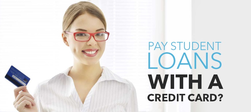 Can You Pay Student Loans With a Credit Card?
