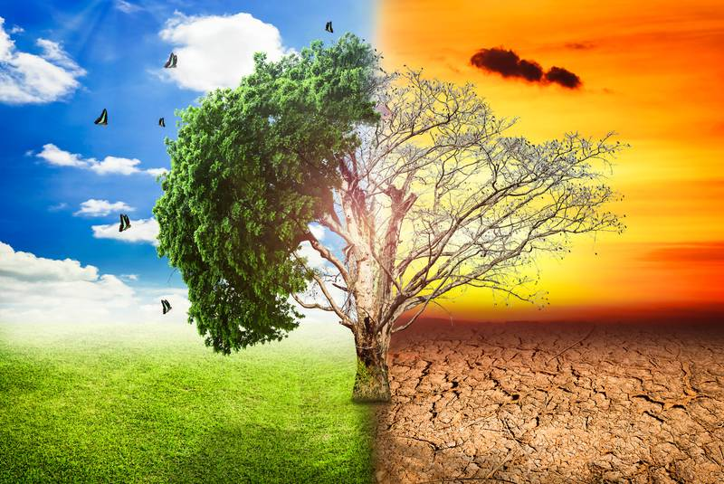 Climate change. - Stock - 123RF Stock Photo