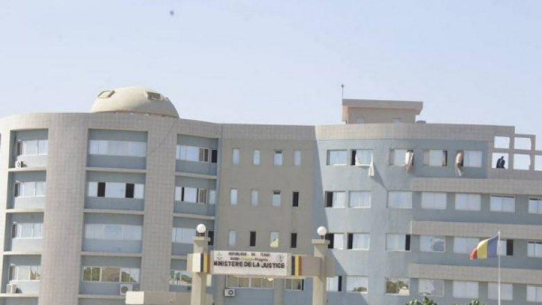Le ministère de la Justice et des droits humains à N'Djamena. © DR