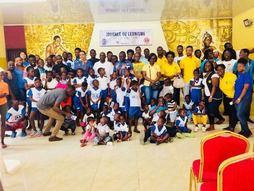 Côte d'Ivoire/Journée du Leonisme 2018 : Les jeunes Lions égayent les enfants du village sos d'Abobo