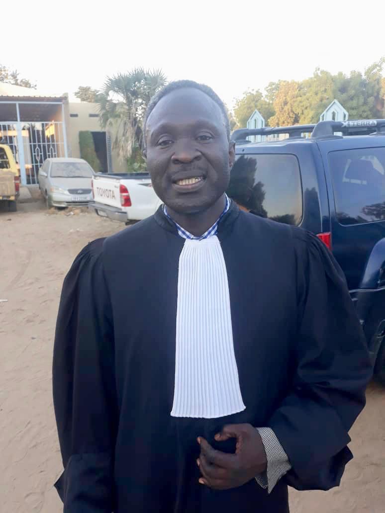 Me. Torde Djimadoum, porte-parole du collectif des avocats du député Azzai Mahamat Hassan. © Alwihda Info