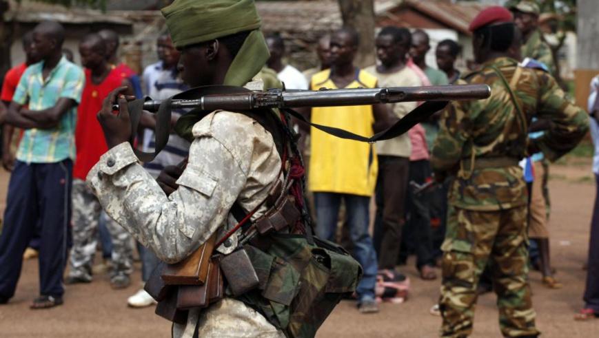 Soldat tchadien à Bangui, le 9 décembre 2013. © REUTERS/Emmanuel Braun