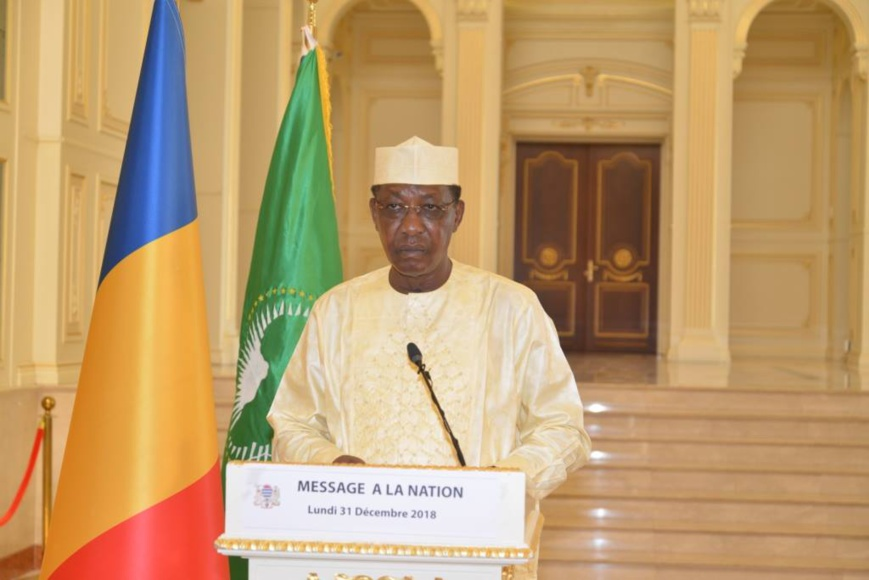 Tchad : les vœux d'Idriss Déby à la nation