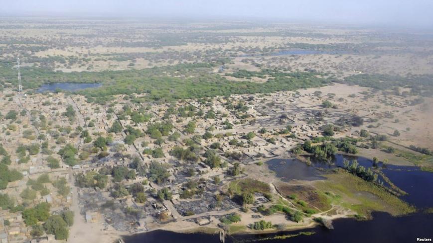 Village de Ngouboua, sur le lac Tchad, attaqué par Boko Haram, fév. 2015. (REUTERS/Madjiasra Nako)