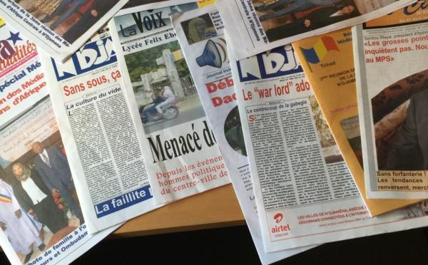 Des journaux tchadiens. © Alwihda Info