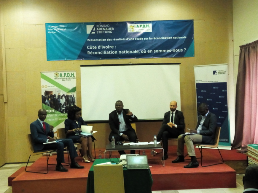 Evaluation du processus de réconciliation en Côte d'Ivoire : L'Apdh décèle « une insuffisance de volonté politique affirmée »