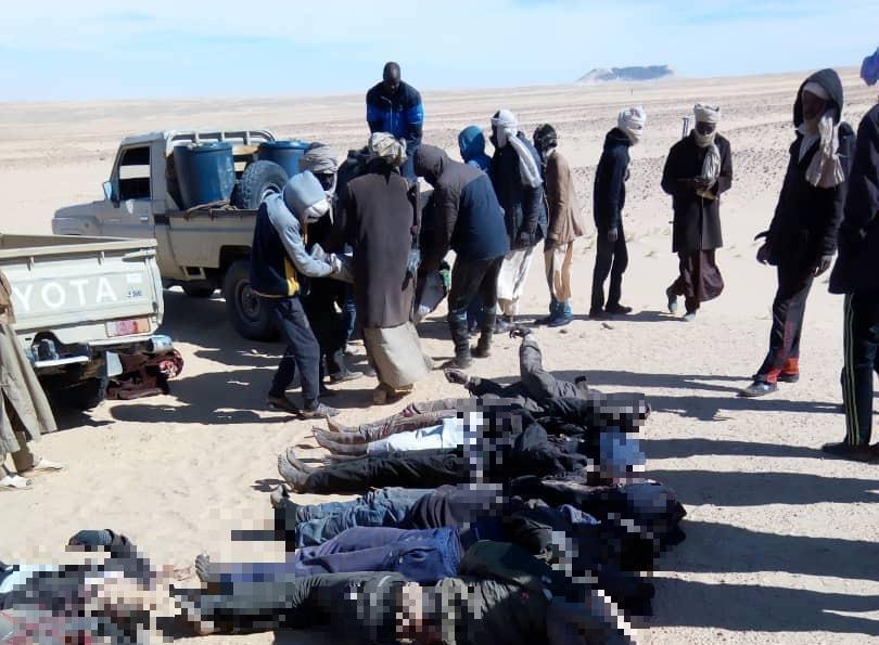 Des victimes d'affrontements au nord du Tchad évacuées. © Alwihda Info