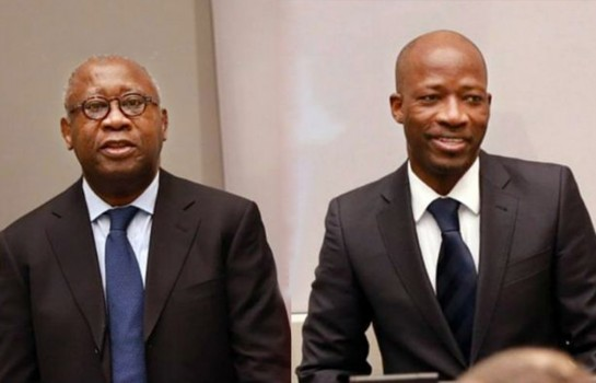 Laurent Gbagbo et Charles Blé Goudé. © DR