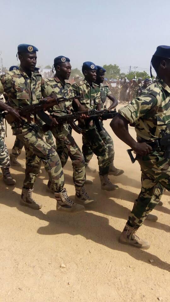 Des militaires au Tchad. Alwihda Info