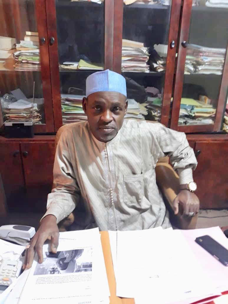 Le procureur général près le tribunal de la cour d'appel de N'Djamena, Moukhtar Abdelhakim Doutoum. © Alwihda Info