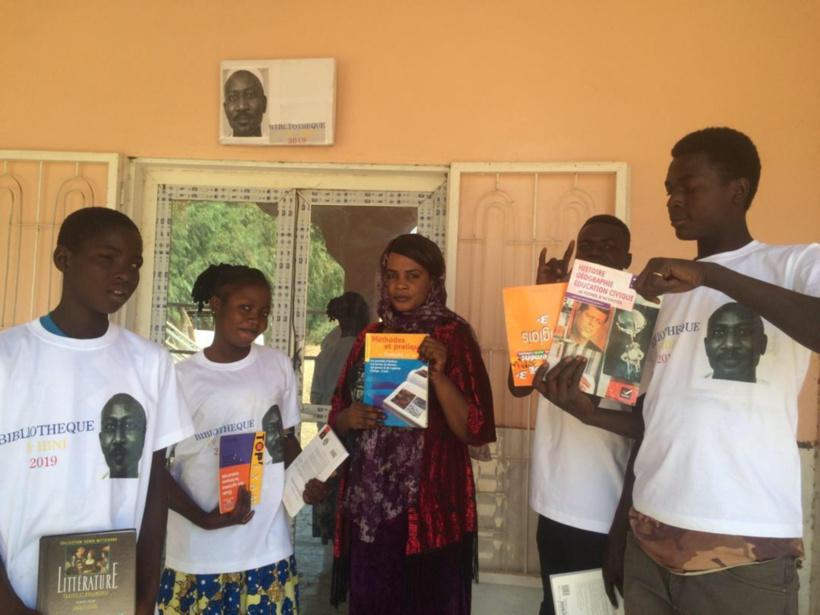 Tchad : une bibliothèque Ibni Oumar lancée à Toukra.