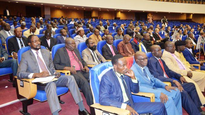 Des représentants des groupes armés centrafricains aux pourparlers de Khartoum. © DR